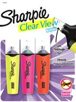 Sharpie Accent Clearview, surligneur, assortiment