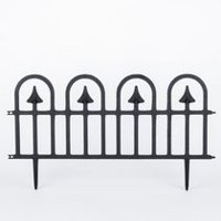 Integrated Plastics Wrought Iron Fence