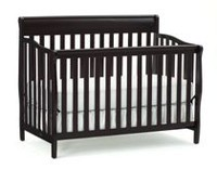 Graco Stanton 4-In-1 Convertible Crib Espresso