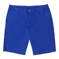 George Classics Men's Flat-Front Shorts French Blue 42