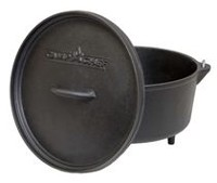 "Camp Chef 12"" Cast Iron Classic Deep Dutch Oven"