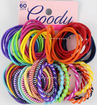 Goody Girls Ouchless Value Pack Elastics - Assorted