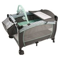 Evenflo® Portable BabySuite Deluxe Playard Spearmint Spree