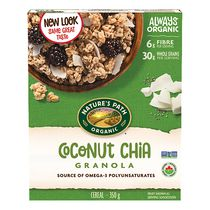Nature's Path Organic Chia Plus Coconut Chia Granola