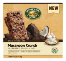 Nature's Path Organic Macaroon Crunch Granola Bars