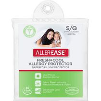 AllerEase Fresh & Cool Allergy Protection Zippered Pillow Protector