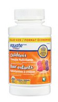 Equate Children's Chewable Multivitamin with Extra Vitamin C