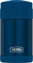 Thermos Vacuum Insulated Stainless Steel Food Jar with Folding Spoon