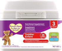Parent's Choice Nutritional Supplement Toddler