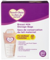 Parent's Choice Breast Milk Storage Bags