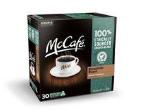 McCafé® Torréfaction supérieure capsules K-Cup® recyclables, 30 unités