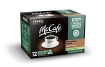 McCafé® Torréfaction supérieure déca capsules K-Cup® recyclables, 12 unités