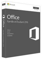 Microsoft Office 2016 Home & Student 2016 for Mac, French