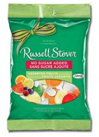 Russell Stover No Sugar Added Assorted Fruit Hard Candies