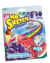 MR SKETCH STICKS ASSORTED SCENTED MARKERS 10CT