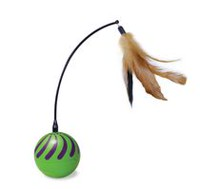 SmartyKat Feather Whirl Electronic Cat Toy