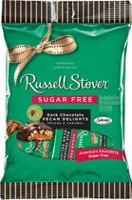 Russell Stover No Sugar Added Dark Chocolate Covered Pecan Delights