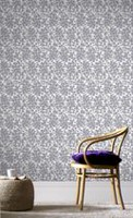 Graham & Brown Woodstock Wallpaper Purple