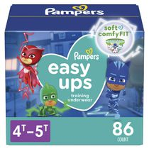 Pampers Easy Ups Boys Training Underwear, Giant Pack