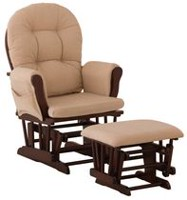 Graco Glider & Ottoman Wooden Baby Furniture