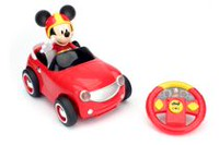 Cabriolet décapotable de course transformante Mickey & Minnie de Disney