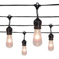 hometrends Vintage Bulb Drop Light Set
