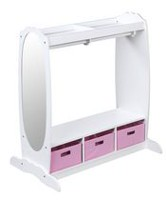 Mainstays Kids Stackable 4 Cubby Storage Shelf Walmart