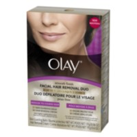 Olay Smooth Finish Facial Hair Removal Duo, Medium to Coarse Hair
