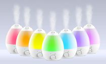 Bell+Howell Ultrasonic Color Changing Humidifier