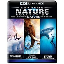 Extreme Nature Collection: Antarctica On The Edge / Titans Of The Ice Age / Great White Shark (4K Ultra HD)