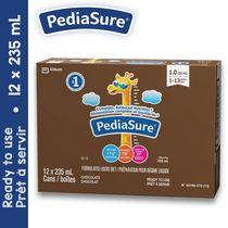 PediaSure®, préparation pour régime liquide, 12 x 235 mL, chocolat
