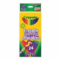 24 Erasable Coloured Pencils