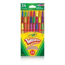 Crayons de cire Twistables effets amusants, 24 ct