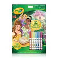 Princess Colouring Activity Pad