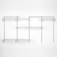 Organisateur de garde-robe ShelfTrack de ClosetMaid 152,4 à 243,8 cm