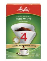 Melitta Cone Coffee Filters - No 4/100 ct