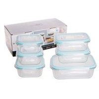 Mainstays Glass Food Storage Box Set