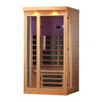 Sauna d'infrarouge lointain Chilliwack de Canadian Spa Co. à 1 personne