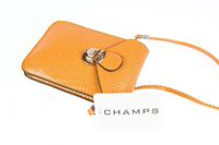 Champs Women's Cell Phone Sling Bag Tan