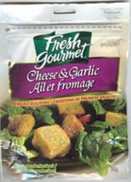 Fresh Gourmet Cheese & Garlic Premium Croutons