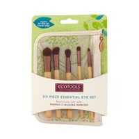 Ecotools Six-Piece Bamboo Essential Eye Brush Set