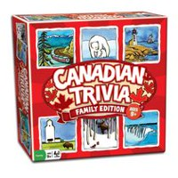 Outset Media Family Edition Canadian Trivia Game