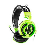 E-Blue Cobra Professional Gaming Headset- Green