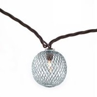 hometrends Silver Mesh String Light Set
