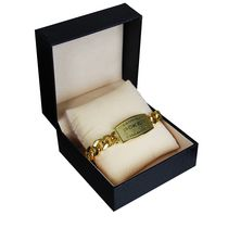 Ovalyon Gold Plated Poker Bracelet