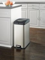 hometrends 30 l Slim Rectangular Trash Can