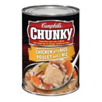 Campbell's Chunky Chicken with Rice Soup