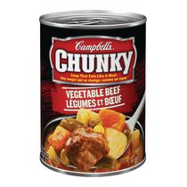Campbell's Chunky Légumes et boeuf 540 mL