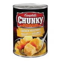 Campbell's Chunky Chicken Vegtable Pot Pie Soup