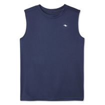 Athletic Works Boys' Solid Tech Muscle Tee